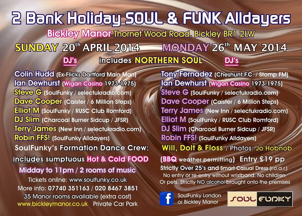 Soul Funky All Dayers web